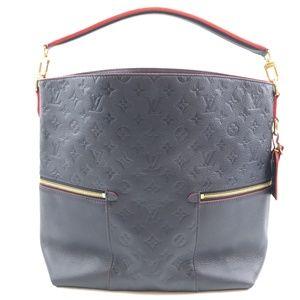 8e2da6021 Louis Vuitton. Bucket Marine Rouge Empreinte Leather Shoulder Bag